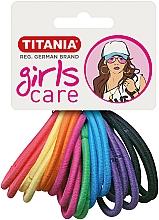 Voňavky, Parfémy, kozmetika Gumičky do vlasů, 20 ks, různobarevné - Titania Girls Care