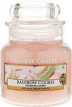 Voňavky, Parfémy, kozmetika Vonná sviečka v sklenenej nádobe - Yankee Candle Rainbow Cookie