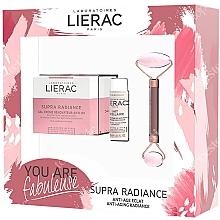 Voňavky, Parfémy, kozmetika Sada - Lierac Supra Radiance Set (f/cr/50ml + f/milk/30ml + roller/1pcs)
