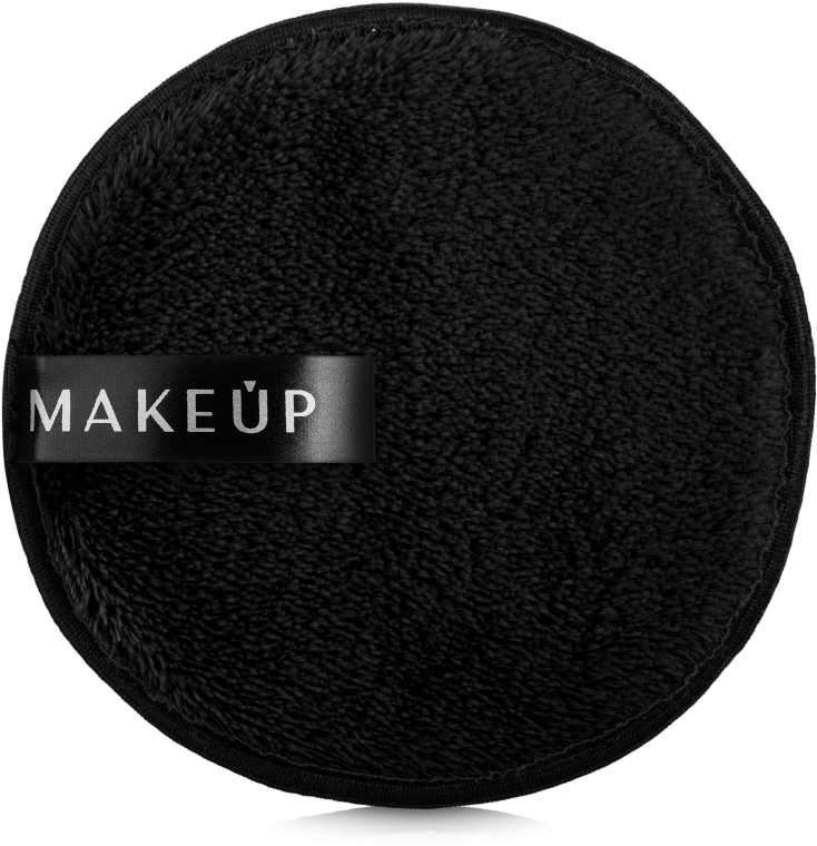 "Špongia na umývanie, čierna ""My Cookie"" - MakeUp Makeup Cleansing Sponge Black"