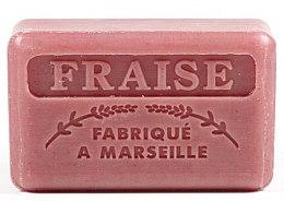 "Voňavky, Parfémy, kozmetika Marselské mydlo ""Jahoda"" - Foufour Savonnette Marseillaise Fraise"