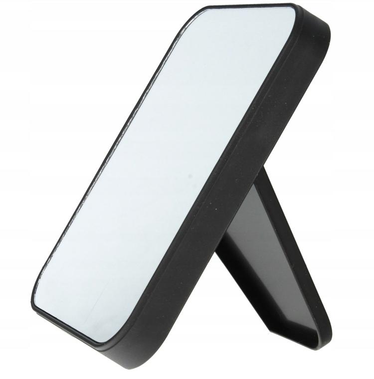 Kozmetické zrkadlo obojstranné, 85062, čierne - Top Choice
