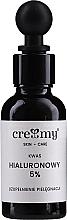 Voňavky, Parfémy, kozmetika Kyselina hyalurónová 5% - Creamy