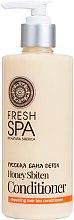 Voňavky, Parfémy, kozmetika Biobalzam na vlasy - Natura Siberica Fresh Spa Russkaja Bania Detox Natural Repairing Hair Conditioner Honey Sbiten