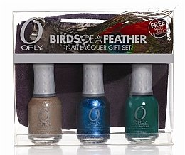 Voňavky, Parfémy, kozmetika Sada lakov na nechty - Orly Birds Of A Feather Set №2 (nail/3xx18ml + bag)