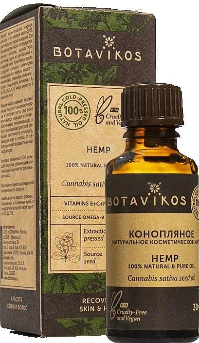 Kozmetický olej Konope - Botavikos