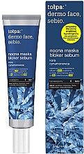 Voňavky, Parfémy, kozmetika Nočná maska na tvár - Tolpa Dermo Face Sebio Night Blocker Sebum Mask