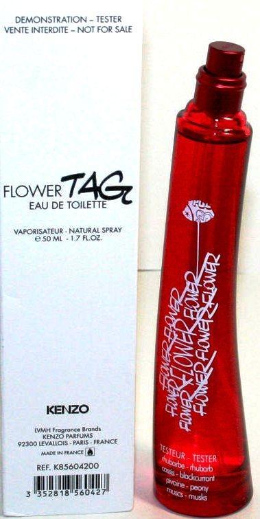 Kenzo Flower Tag - Toaletná voda (tester bez uzáveru) — Obrázky N2