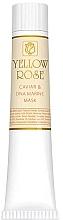 Voňavky, Parfémy, kozmetika Maska na tvár s kaviárom a morskou DNA (tuba) - Yellow Rose Caviar & Marine DNA Face Mask