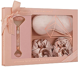 Voňavky, Parfémy, kozmetika Sada - Crystallove Rose Quartz Home SPA Set