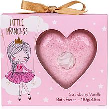 Voňavky, Parfémy, kozmetika Bomba do kúpeľa  - Accentra Little Princess Strawberry & Vanilla Bath Fizzer