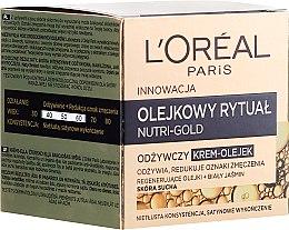 Voňavky, Parfémy, kozmetika Krém-olej pre suchú pokožku - L'Oreal Paris Nutri Gold Cream-Oil
