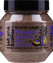 Voňavky, Parfémy, kozmetika Kávový telový peeling, tonus a hladkosť - MonoLove Bio Pineapple-Jamaica Tonus & Smoothness Body Scrub