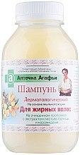 Voňavky, Parfémy, kozmetika Šampón pre mastné vlasy - Recepty babičky Agafji Lekárnička Agafji