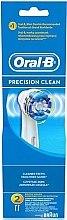 Voňavky, Parfémy, kozmetika Náhradná hlavica do elektrickej zubnej kefky, 2 ks - Oral-B Precision Clean