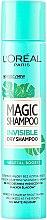 Voňavky, Parfémy, kozmetika Suchý šampón na vlasy - L'Oreal Paris Magic Shampoo Invisible Dry Shampoo Vegetal Boost