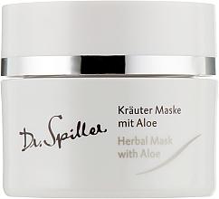 Voňavky, Parfémy, kozmetika Bylinná maska na problémovú pokožku s aloe vera - Dr. Spiller Intense Herbal Mask With Aloe