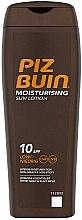 Voňavky, Parfémy, kozmetika Hydratačné mlieko pre télo - Piz Buin Sun Moisturising Sun Lotion SPF10