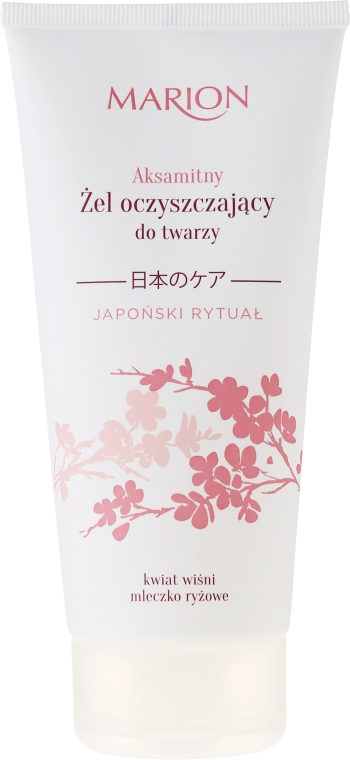 Čistiaci gél na tvár - Marion Japanese Ritual Velvet Cleansing Gel For Face
