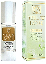 Voňavky, Parfémy, kozmetika Omladzujúce kvapky pre krásu pokožky - Yellow Rose Cellular Liposomes Anti-Aging Bio-Drops