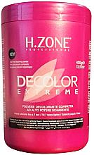 Voňavky, Parfémy, kozmetika Bieliaci prášok na vlasy - H.Zone Decolor Extreme