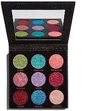 Voňavky, Parfémy, kozmetika Paleta glitterov - Makeup Revolution Pressed Glitter Palette Abracadabra