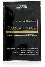 Voňavky, Parfémy, kozmetika Zosvetľovač na vlasy - Joanna Professional Platinum Classic Lightener (sashet)