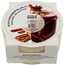 Voňavky, Parfémy, kozmetika Vonná sviečka - House of Glam Hot Spiced Wine Candle (mini)
