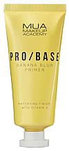 Voňavky, Parfémy, kozmetika Zmatňujúci primer na tvár s banánovou vôňou - Mua Pro/ Base Banana Blur Primer