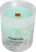 Voňavky, Parfémy, kozmetika Dekoratívna sviečka v matnom skle, 8x9,5 cm - Artman Organic Winter Good Vela