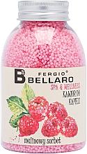 """Voňavky, Parfémy, kozmetika Zjemňujúce guľôčky do kúpeľa """"Malinový sorbet"""" - Fergio Bellaro Raspberry Sorbet Bath Caviar"""