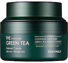 Voňavky, Parfémy, kozmetika Intenzívny hydratačný krém s extraktom zo zeleného čaju - Tony Moly The Chok Chok Green Tea Intense Cream