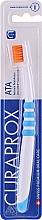 Voňavky, Parfémy, kozmetika Zubná kefka, modrá - Curaprox ATA Atraumatic Total Access