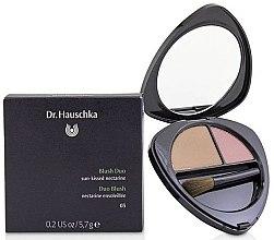Voňavky, Parfémy, kozmetika Dvojitá líčenka na tvár - Dr. Hauschka Blush Duo