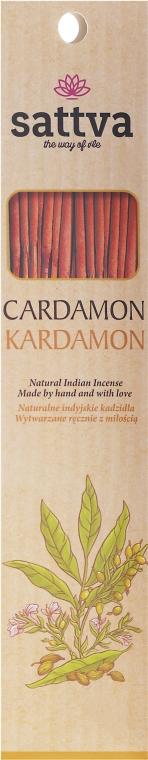"Aromatické tyčinky ""Kardamóm"" - Sattva Kardamon"