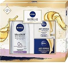 Voňavky, Parfémy, kozmetika Sada - Nivea Beautiful Age (d/cr/50ml+n/cr/50ml+micel/water/200ml)