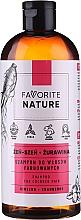 Voňavky, Parfémy, kozmetika Šampón na farbené vlasy s extraktmi zo ženšenu a brusníc - Favorite Nature Shampoo For Colored Hair Ginseng & Cranberry
