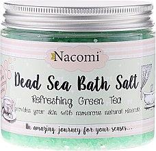 Voňavky, Parfémy, kozmetika Mŕtveho mora kúpeľná soľ s príchuťou zeleného čaju - Nacomi Dead Sea Bath Salt