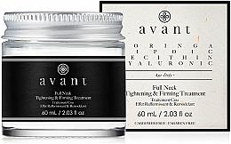 Voňavky, Parfémy, kozmetika Liftingový a spevňujúci krém na pokožku krku - Avant Skincare Full Neck Tightening and Firming Treatment