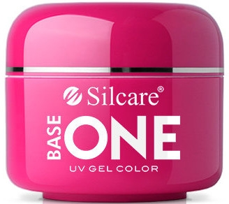 Gél na nechty - Silcare Base One Red Gel Color