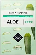 Voňavky, Parfémy, kozmetika Ultra tenká pleťová maska s extraktom z aloe - Etude House Therapy Air Mask Aloe