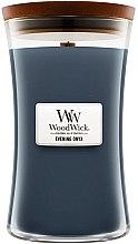 Voňavky, Parfémy, kozmetika Vonná sviečka v pohári - WoodWick Hourglass Candle Evening Onyx