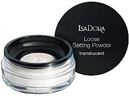 Voňavky, Parfémy, kozmetika Transparentný sypký púder na tvár - IsaDora Loose Setting Powder Translucent