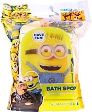"""Voňavky, Parfémy, kozmetika Detská hubka do kúpeľa """"Mimoni"""", žltá - Suavipiel Minnioins Bath Sponge"""
