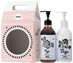 Voňavky, Parfémy, kozmetika Sada - Yope Fig (soap/500ml + b/lot/300ml)
