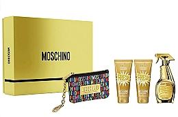 Voňavky, Parfémy, kozmetika Moschino Gold Fresh Couture - Sada (edp/100ml + b/lot/100ml + s/gel/100 ml + bag)
