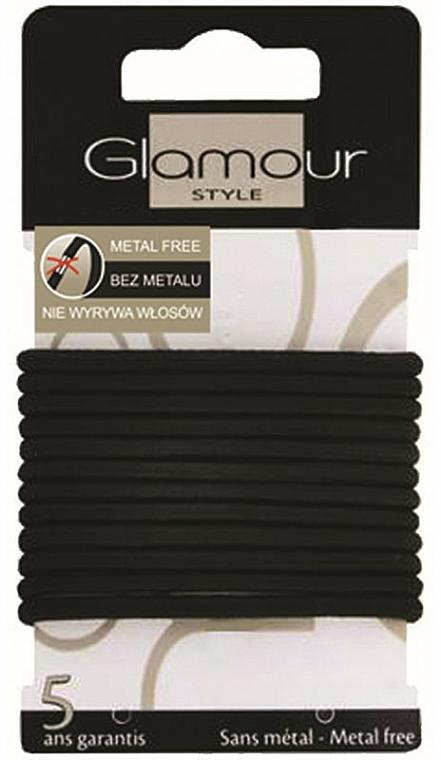 Gumičky do vlasov, 414687, čierne - Glamour