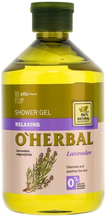 Relaxačný sprchový gél s extraktom z levandule - O'Herbal Relaxing Shower Gel
