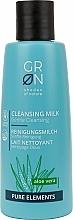 Voňavky, Parfémy, kozmetika Čistiace mlieko - GRN Pure Elements Aloe Vera Cleansing Milk
