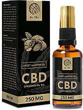 Voňavky, Parfémy, kozmetika Prírodný olej zo sladkých mandlí CBD 250mg - Dr. T&J Bio Oil